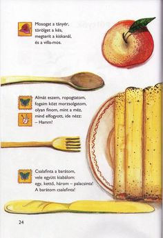 Albumarchívum Stories For Kids, Healthy Recipes, Healthy Food, Album, Teaching, Fruit, Tableware, Education, Poems