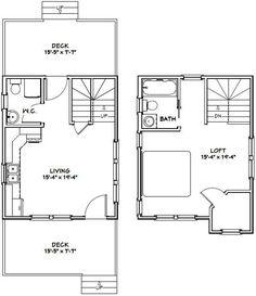 Cabin House Plans, Small House Plans, House Floor Plans, Faux Brick Panels, Brick Paneling, Garage Plans, Shed Plans, Floor Plans 2 Story, Building A Shed