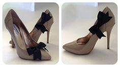 mimi g.: DIY Tutorial: Christian Louboutin Bow-Tie Shoe