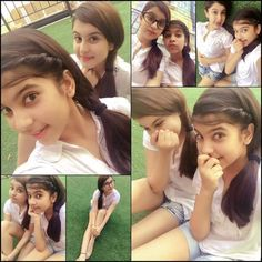 White ended up being the constant making us the inseparable-duo💁 Sweet Girl Photo, Sweet Girls, Beautiful Muslim Women, Beautiful Girl Indian, Tunisha Sharma, Private School Girl, Young And The Reckless, Amazing Dp, Girl Number For Friendship