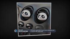 Osvěžovač vzduchu do auta panda