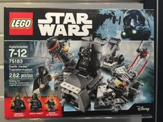 LEGO Star Wars Darth Vader Transformation 75183 Box Toy Fair 2017