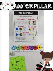 Math games to build number sense in the primary grades! Easy to set up and use for centers and guided math groups. Helps make math more fun for students! Kindergarten Math Games, Fun Math Games, Math Classroom, Math Activities, Teaching Math, Math Addition Games, Addition And Subtraction, First Grade Teachers, First Grade Math