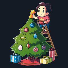 Steven Universe Crystal Gem Christmas T-Shirt | Official Steven Universe Tee | TeeTurtle
