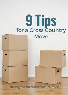 Tips for Surviving a Cross Country Move Cross country Apartments