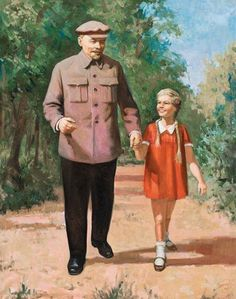 Lenin and girl 1968