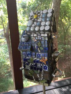 Mosaic Suncatcher Tempered Glass Over Painted Plexiglass
