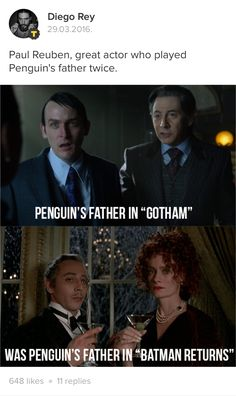 Both times did not end well for Pee Wee Herman's son. Pee Wee is a terrible father, period. 😂☺😉 <-- I loved this casting and glad Paul could do it. Batman Comic Art, Batman Comics, Batman Robin, Dc Comics, Gotham Tv Series, Gotham Cast, Robin Taylor, Poison Ivy Batman, Jerome Valeska