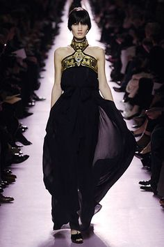 Saint Laurent Fall 2006 Ready-to-Wear Fashion Show - Bette Franke