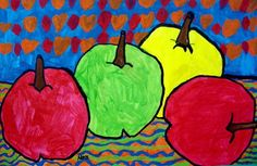 "From exhibit ""Cezanne-ish Apple Still Life"" by nora85"