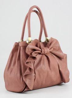 pink bows purse