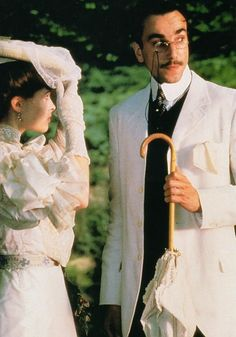 Daniel Day Lewis and Helena Bonham Carter. A Room with a View