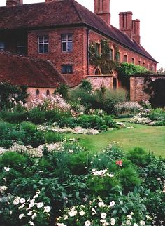 Strode House and Garden, Somerset, England by richwall100