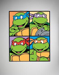 Teenage Mutant Ninja Turtles 8x10 Canvas Wall Art