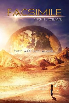 I'm so excited to see this AWESOME cover for Vicki Weavil's latest #YA from @month9books, FACSIMILE! This is a #scifi tale, coming in Febrary 2016! I can't wait to get my hands on it :-)