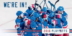 NYR are back in the playoffs!!!