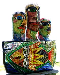 sculpture mosaic | Mosaic Sculpture | Flickr - Photo Sharing!