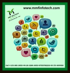 With new social networking platforms appearing from every corner of the world, it can be hard to know exactly where to commit your time, so you can improve your business by social media marketing. Call at +44 20 3289 3055/+1-213-985-3055/+91-731-4041450/+91-731-4038486 or Email at info@mmfinfotech.com