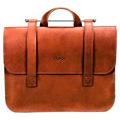 Beautifully handcrafted like a vintage briefcase, but outfitted to accommodate all your ultra-modern tech gadgets.