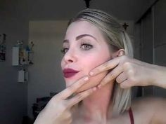 YouTube Youtube, Hair Styles, Makeup, Face, Beauty, Fitness, Face Wrinkles, Facial Exercises, Massage Tips