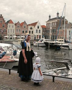 Zeeuwse Klederdracht Zeeland, island of Walcheren.  Zeeland  province traditional costume.