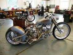 Custom Trikes, Custom Bobber, Custom Motorcycles, Rat Rod Motorcycle, Trike Chopper, Motorcycle Companies, Cool Gadgets To Buy, Motorbikes, Vehicles