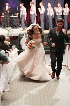 Benjamin & Jessa Seewald married on November 1