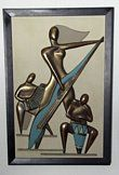 Philip Taub 1959/1960 Abstract Reliefs