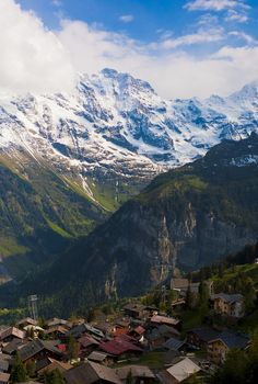 Blue Kingdom - Village; Vertical (by Dex Efd)