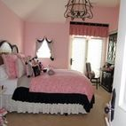 Girls Bedroom Pink Design, Pictures, Remodel, Decor and Ideas