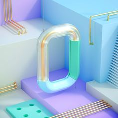 Behance is the world's largest creative network for showcasing and discovering creative work 3d Design, Design Trends, Typo Design, Graphic Design, 3d Cinema, 3d Type, 3d Typography, Lettering, Isometric Design