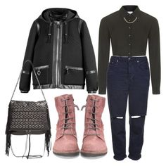 """Untitled #439"" by bluveraa ❤ liked on Polyvore featuring Topshop, Les Cinq and Ash"