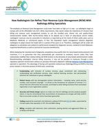 How Radiologists Can Refine Their Revenue Cycle Management (RCM) With Radiology Billing Specialists