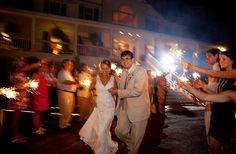 savannah wedding #fireworks