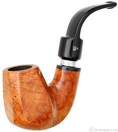 Butz-Choquin Marco Paneled Bent Brandy (C) (9mm) Pipes at Smoking Pipes .com