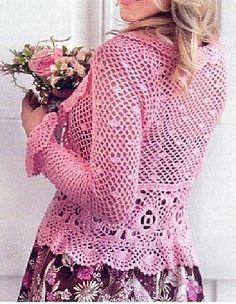 bolero - crochet chart