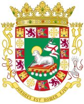 coat of arms symbols meanings and pictures | Coat of Arms of the Commonwealth of Puerto Rico.svg