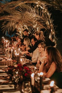 Bohemian reception for intimate bohemian outdoor destination wedding in Ronda, Spain Photo by: The Bold Americana