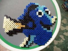 Dory - Finding Nemo perler beads by fate82 on deviantART