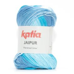 Katia Jaipur Blauw 100% katoen