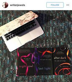 Found on Instagram #TheNightOwlTrilogy by @mpiercefiction  #Books #MPierce #NightOwlTrilogy. #Paperback #MustRead