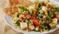 Tabbouleh- This Middle Eastern classic uses whole grain bulgur   Cooking Matters