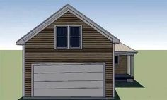 Plan 15044NC: Cottage for Narrow Lot