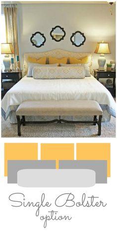 Bed Pillow Arrangement On Pinterest Pillow Arrangement
