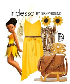 """""""Iridessa"""" by leslieakay ❤ liked on Polyvore featuring ALDO, River Island, SOPHIE MILLER, Violeta by Mango, Dorothy Perkins, disney and disneybound"""