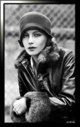 Thirties Fashion Icon - Greta Garbo