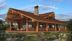 log home pictures | Handcrafted log homes, cabins, canadian log homes, chalet