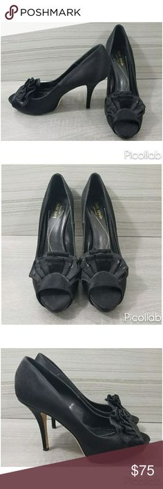 Kate Spade Satin Platform Heels USED In Great Condition, Satin, 4 1/2 Heel, Please See All Pics kate spade Shoes Heels