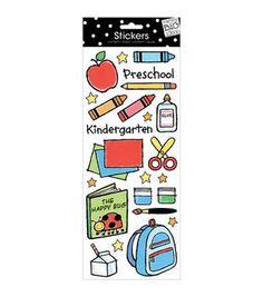 Me & My Big Ideas Stickers-Preschool