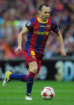 Andres Iniesta Photo - Barcelona v Manchester United - UEFA Champions League Final